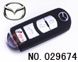 Mazda 4 button smart remote shell