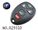 Buick Enclave 5 Button Remote Key Shell (Gift)