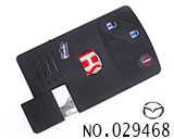 Mazda 3-button smart card casing