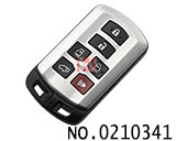 Toyota Seine car 6 button smart remote control key (dedicated)