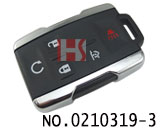 New Chevrolet car 5 button remote casing