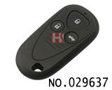 Acura car 3 button remote casing