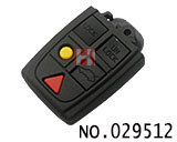 Volvo 5-button key casing