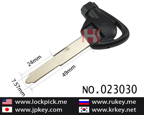 Yamaha Motocycle Foldable Magnetic Key(square shape)