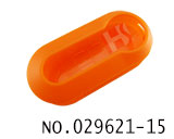 Fiat car remote folding key shell(Orange)