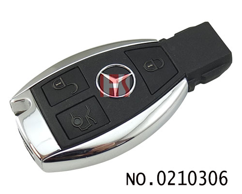 Benz Maybach car three key intelligent remote control key shell (with battery clip)