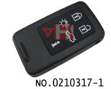 Volvo car 6 buttons smart remote key shell