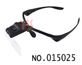 head mounted glass type LED magnifier