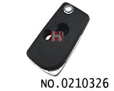 Honda Fit, Civic car 2 button key remote control folding shell