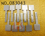 Auto gear modeling key(10pcs)
