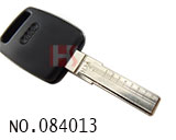 Audi car data scale lineation vertical milling key(HU66)