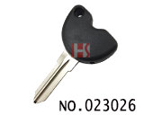 Piaggio motorcycle Transponder Key Shell (black)