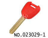 Honda Motocycle Transponder chip Vertical Key Casing (Red)