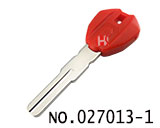 Ducati Motocycle Transponder Key Shell(Red)