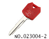 Kawasaki Motocycle Transponder Key Shell(Red)
