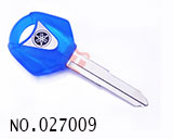Yamaha Motocycle Transponder Key Shell(Crystal blue)