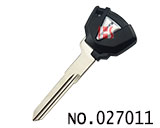 Kawasaki Motorcycle Transponder Key Shell(black)