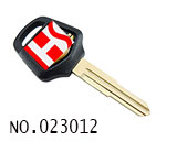 Honda Motocycle Transponder Key Casing.