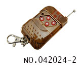 4 button slide copy remote control(NO.1 fixed code 433MHZ)