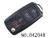 B5 3-button folding key Remote Control (rolling code)