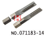 BUYANG single row of curved slot lock quick opening alloy tool blade