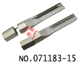 Single row AB  back slot lock open alloy tool blade