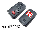 Toyota car 4 button smart remote key