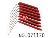 Non-slip handle L type unlock pin (10 pieces)