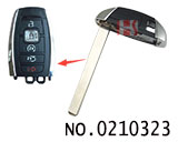 Lincoln car smart card small key