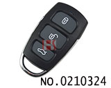 Hyundai, Kia car 3 button key remote control modified shell