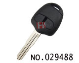 Mitsubishi Outlander 2 Button Remote Key Shell (right groove.without LOGO)