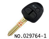car 3 button remote key casing for Mitsubishi Lancer-ex
