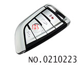 Knife shape 4 button smart remote key casing for BMW