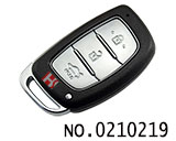 3 button smart remote key cover for Hyundai IX25 IX35