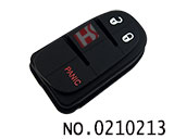 Chrysler,Dodge,Jeep car 3 button smart remote rubber