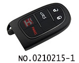 Car 3+1 button remote smart key casing for Chrysler,Dodge,Jeep