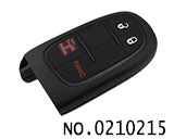 Chrysler,Dodge,Jeep car 2+1 button remote smart key casing