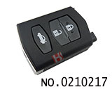 3 button remote key cover for Mazda M6