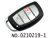 4 button smart remote key cover for Hyundai IX35, Mistra