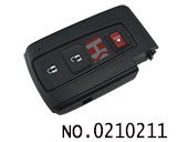 Toyota Prius car 3 button smart remote key cover