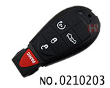 Chrysler,Dodge,Jeep car 5 button smart remote key(USA)