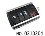 Acura MDX RDX TL car 3 button smart remote key casing