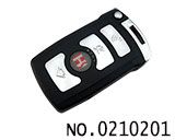 BMW 7 series car 4 button remote key(433MHZ)