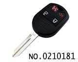 Ford Edge/ Mustang/ Expedition 3 Button Remote Key(Adjustable frequency)