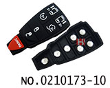 Chrysler,Jeep,Dodge car 6+1 button remote rubber