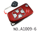 Toyota Camry 4 Button Remote Modified Key Shell (Red)