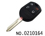 Ford Edge/ Mustang/ Expedition 4 Button Remote Key(Adjustable frequency)
