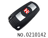BMW 3-5 series car 3 button remote key(frequency conversion)