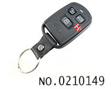 Kia car 3 button remote key shell