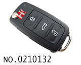 VW New Passat car smart flip remote key